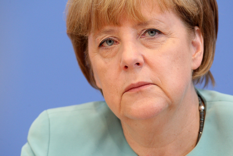 Merkel Holds Summer Press Conference