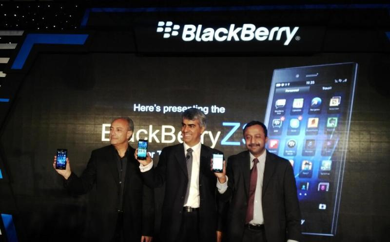 BlackBerry Z3 Launch in India