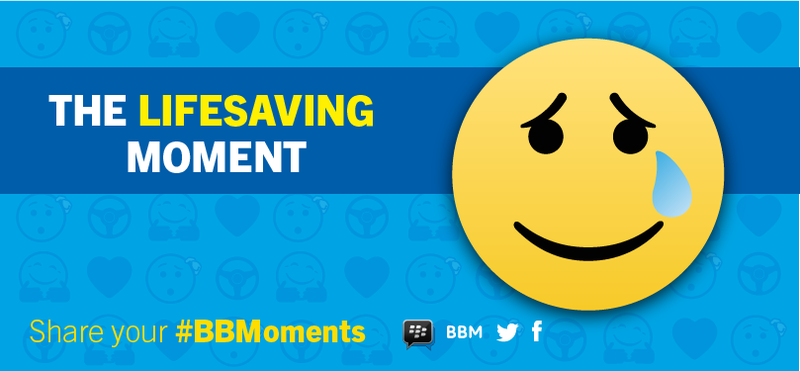 BBMoments campaign focus on healthcare
