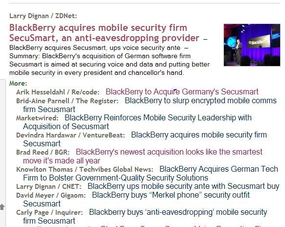 bbry buys secusmart techmeme 2