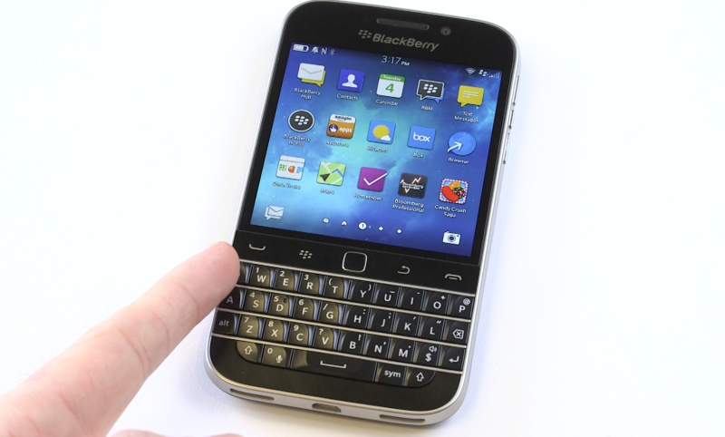 unreleased BlackBerry Classic, Classic, Leak BlackBerry Classic