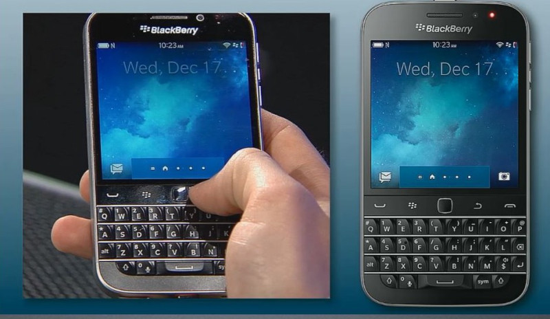 BlackBerry Classic shot from Launch