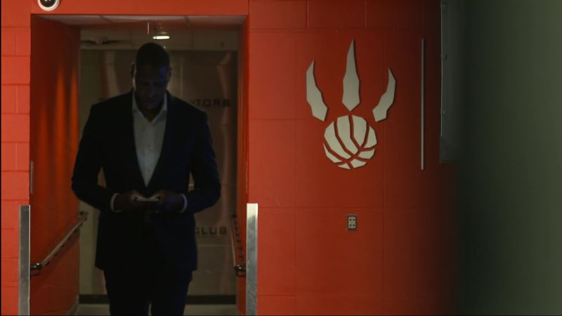 Masai leaving locker room