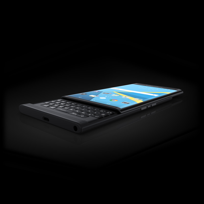 PRIV by BlackBerry angle open