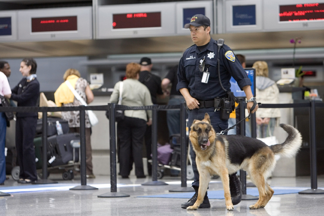 Security Visible At Nations Airports Prior To 4th Of July Celebrations